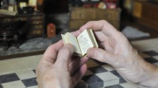Miniature book created for royal dolls' house is published