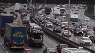 Traffic jams 'cost economy £9 billion in a year'