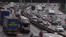 Traffic jams cost economy £9 billion last year