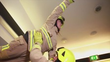 Kent firefighters' Dirty Dancing parody