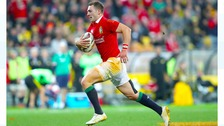 George North out of Autumn series with knee injury
