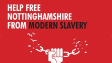 Police have made a pledge to free Nottinghamshire from modern slavery to mark national anti-slavery day.