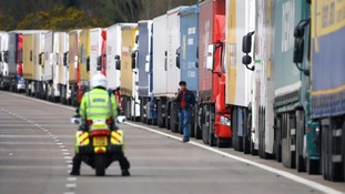 Police reintroduced emergency motorway closures heading for Dover during 2015's strike action.