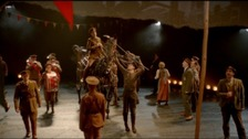War Horse theatre production returns to Bristol Hippodrome