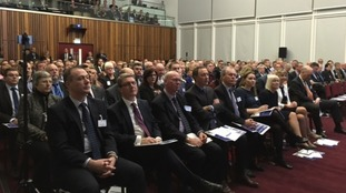250 local business and political leaders among those attending today's launch.