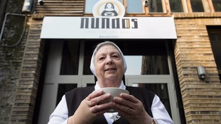 Nuns set up restaurant serving free food in Shoreditch - at 'Nundos'