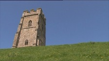 Glastonbury Tor undergoes repairs