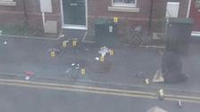 Scene of the shooting