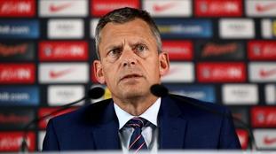 Martin Glenn said the FA 'apologised' to the two players.