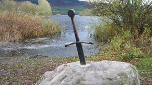 Can you help put the sword back in the stone? Campaign to return beloved Brecon attraction