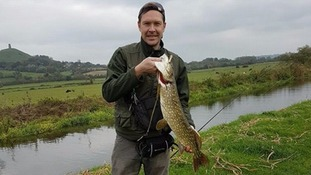 Somerset angler's catch contains a surprise