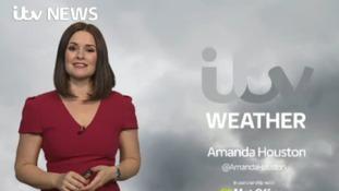 Thursday's forecast for east of region
