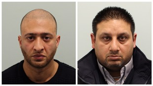 Mohammad Siddique (left) and Ranjeev Singh have both been jailed for more than six years.