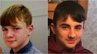 Judge (left) and Kyle (right) were last seen catching a train to Sheffield.