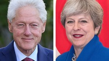 Bill Clinton will meet Theresa May about the ongoing NI talks.