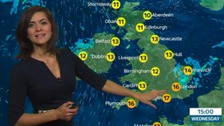 Weather: Cloudy skies capping temperatures tonight