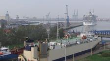 Zeebrugge port