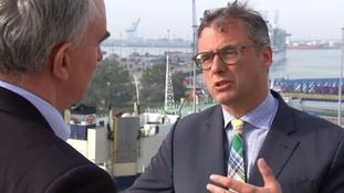 Zeebrugge Port CEO Joachim Coen