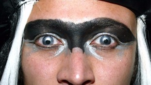 Warning over 'spooky' Halloween contact lenses