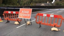 Road closures and delays in Cumbria