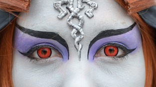 Warning over Halloween contact lenses