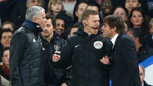Antonio Conte tells Jose Mourinho to concentrate on his own team