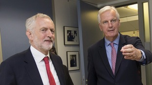 corbyn and barnier