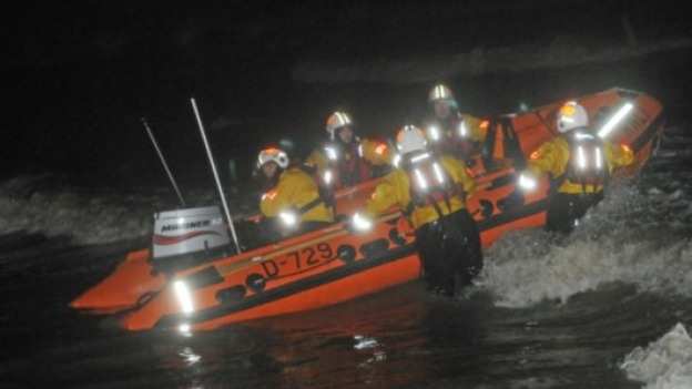 RNLI search Blackpool
