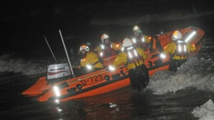 RNLI crew Blackpool