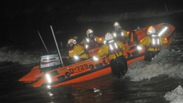 RNLI crew Blackpool