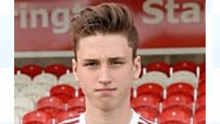Academy player Jordan Moseley who died this week