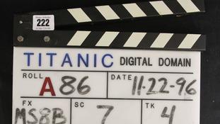 Titanic Clapper Board