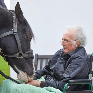 Ron Smith was reunited with his 15-year-old horse