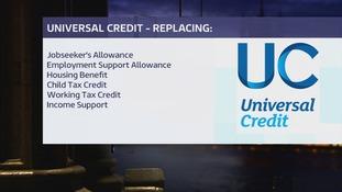 Universal Credit graphic