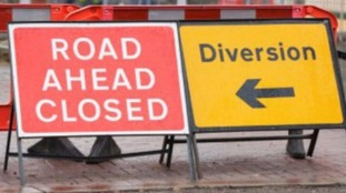 Roadworks are being rescheduled.