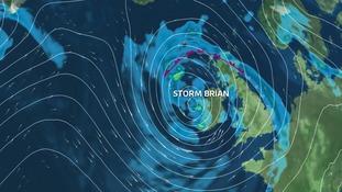 Storm Brian