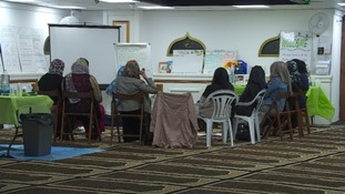 Muslim women attend a parenting class, but many have been victims of Islamophobia