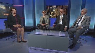 Emma Hutchinson was joined in the studio by Vicky Ford MP (Con), Sandy Martin MP (Lab) and Patrick O'Flynn MEP (Ukip)