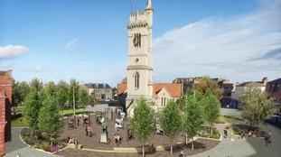 Artist's impression, Church Square.