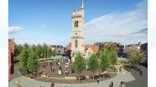 Artist's impression, Church Square.