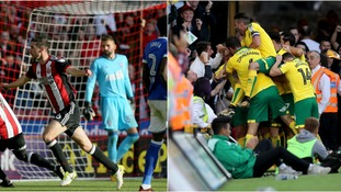 Ipswich Town lost their last game at Sheffield United, while Norwich City bagged a last-minute point against Hull City.