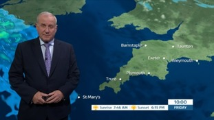 Sunny spells in the South West