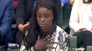 Eni Aluko gave evidence to a committee of MPs