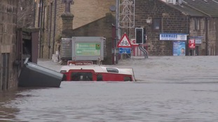 The Calder Valley was devastated in the Boxing Day floods of 2015