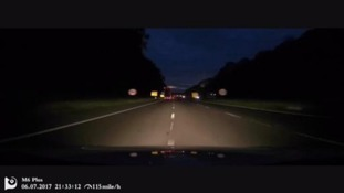 Drink-driver caught speeding on way home from the pub by his own dashcam