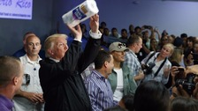 Puerto Rico hurricane response '10 out of 10', says Trump