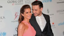 Cheryl and Liam Payne on the red carpet