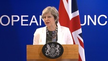 Theresa May 'optimistic' that Brexit deal can be reached
