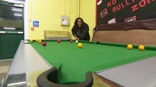 Sandy youth club in Bedfordshire.