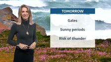Today's forecast including all the weather warnings